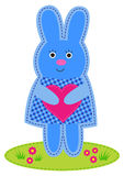 Bunny with heart Royalty Free Stock Photography