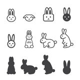 Bunny icon Royalty Free Stock Image