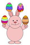 Bunny Juggle Royalty Free Stock Image