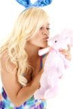 Bunny kiss Royalty Free Stock Images