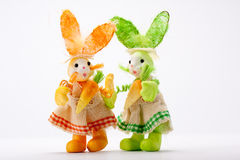 Bunny ladies Stock Photos