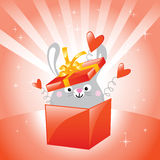 Bunny love Stock Images