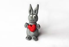 Bunny in love Stock Photo