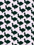 Bunny pattern Royalty Free Stock Image