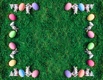 Free Bunny Rabbit Pink Easter Egg Stock Images - 89368644