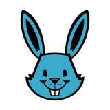 Bunny Rabbit. A vector illustration of a cute bunny rabbit Stock Photo