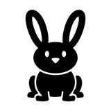 Bunny Rabbit. A vector illustration of a cute bunny rabbit Stock Image