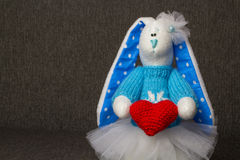 Bunny Soft Toy Photographie stock libre de droits