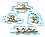 Bunny Sport Illustrations Stock Photography