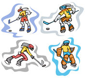 Bunny sport illustrations Stock Photo
