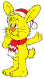 Bunny (vector). Vector clip-art / children's illustration for your design Stock Image
