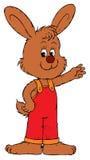 Bunny (vector clip-art) Stock Photo