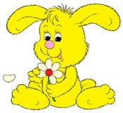 Bunny (vector clip-art). Vector clip-art / children's illustration for your design Stock Image