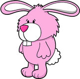 Bunny Vector Illustration Royalty Free Stock Images