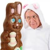 Bunny Vs. Bunny Stock Image