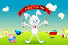 Bunny Wishing Easter Royalty Free Stock Image