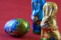 Bunnys di Pasqua Fotografie Stock Libere da Diritti