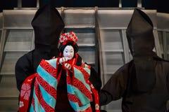 Bunraku (日本木偶戏) 图库摄影
