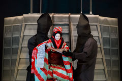 Bunraku (Japanese puppet play) Royalty Free Stock Image