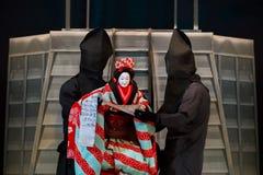 Bunraku (Japanese puppet play) Royalty Free Stock Image