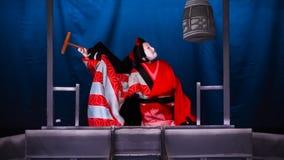 Bunraku (Japanese puppet play) Royalty Free Stock Images