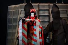 Bunraku (Japanese puppet play) Stock Images