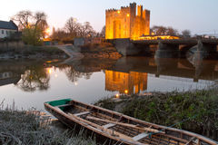 bunratty城堡 免版税库存图片