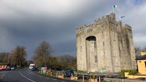 bunratty城堡 库存图片