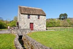 bunratty民间水平的爱尔兰磨房公园 免版税库存照片