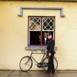 Bunratty,一个地道小村庄在克莱尔郡,爱尔兰 免版税库存图片