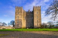 bunratty замок clare co Ирландия clare стоковые изображения rf