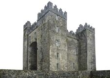 Bunratty Castle Irish: Caisleán Bhun Raithe, meaning `Castle at the Mouth of the Ratty` is a large tower house in County Clare,