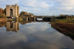 Bunratty castle Royalty Free Stock Photography