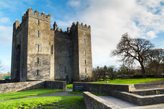 Bunratty castle in Co. Clare Stock Image