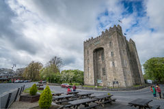 Bunratty castle in Ireland Stock Photo