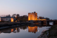 Bunratty castle in west Ireland Stock Images