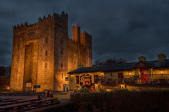 Bunratty, IERLAND - 10 Nov., 2016: Provincie Clare, Ierland Stock Afbeelding