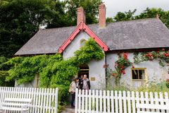 Bunratty , an authentic small village in County Clare, Ireland Stock Photo