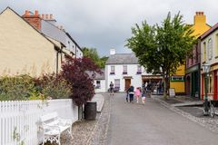 Bunratty , an authentic small village in County Clare, Ireland Royalty Free Stock Photography