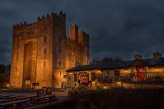 Bunratty, IRLAND - 10. November 2016: Grafschaft Clare, Irland Stockbild