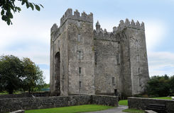 Bunratty Schloss Stockfotografie