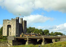 bunratty slott clare co ireland Arkivbild
