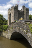 Bunrattykasteel - Provincie Clare - Republiek Ierland Royalty-vrije Stock Foto's