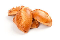 Buns with apple, baked pasties Stock Photography