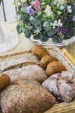 Buns, bread and cakes Royalty Free Stock Photos