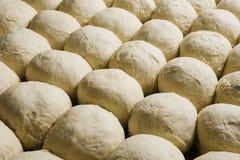 Buns Bread Dough Ready To Bake Stock Photo