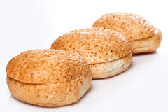 Buns for burger Royalty Free Stock Photo