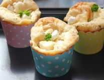 Buns with cheese. Some homemade buns of wheat flour with cheese stock photos