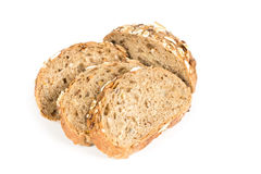 Buns with oats and sunflower Royalty Free Stock Images