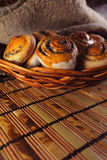 Buns with poppy Stock Photo